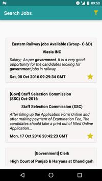 Search any kind of jobs apk screenshot