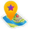 Share GPS & Add Place in Maps icon