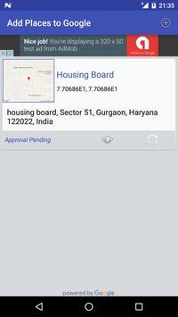 Share GPS & Add Place in Maps screenshot 2