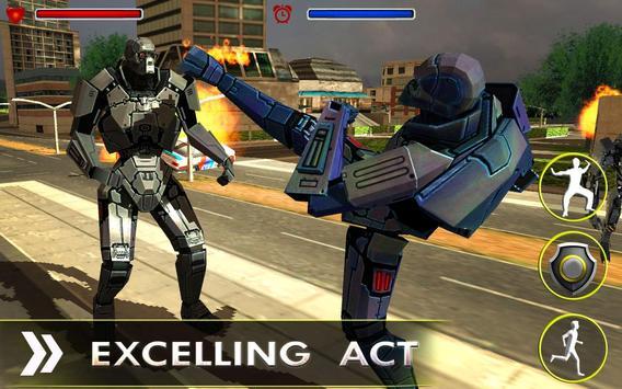 REAL ROBOT STEEL FIGHTING apk screenshot