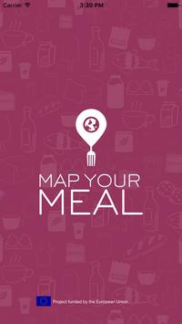 Map Your Meal poster