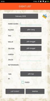 HAG Event List apk screenshot
