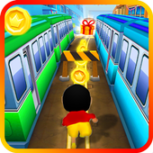 Shin Subway Adventure: Endless Run Race Game icon