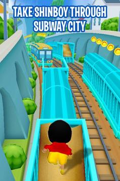 Shin Subway Adventure: Endless Run Race Game poster