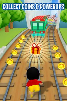 Shin Subway Adventure: Endless Run Race Game screenshot 1