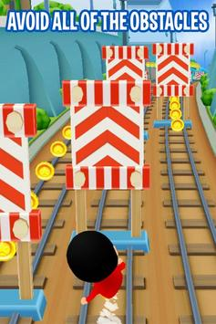 Shin Subway Adventure: Endless Run Race Game screenshot 2