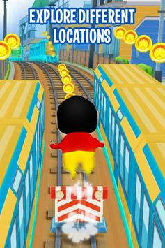 Shin Subway Adventure: Endless Run Race Game screenshot 3
