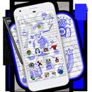 Kağıt Kroki Doodle Tema APK