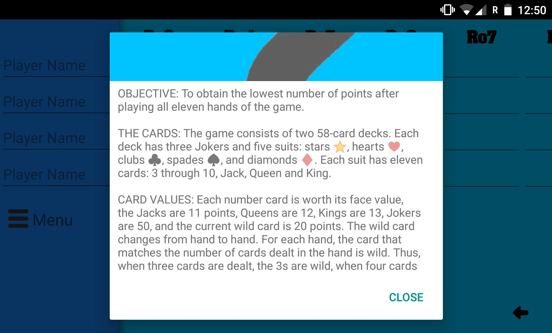 Five Crowns Scorecard for Android - APK Download