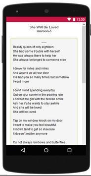 Valentine Love Song Lyric screenshot 1