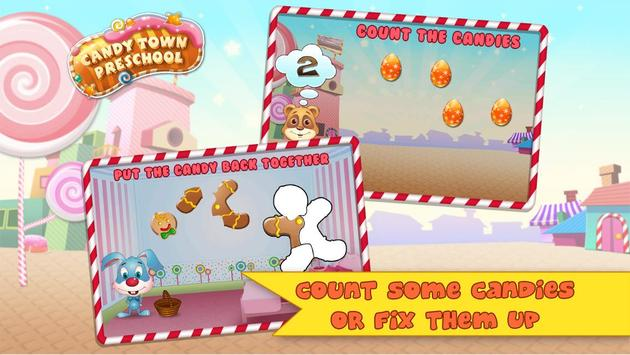Candy Town Preschool Educational App for Toddlers apk screenshot