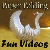 Paper Folding Fun Videos icon