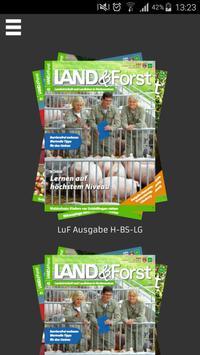 LAND & Forst poster