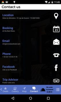 Ministère Hôtel apk screenshot