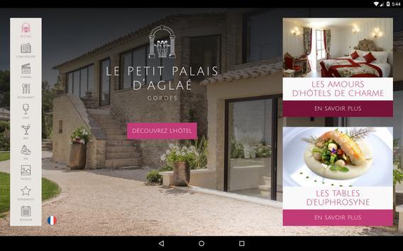 Le Petit Palais d'Aglaé, Hôtel Restaurant Spa screenshot 8