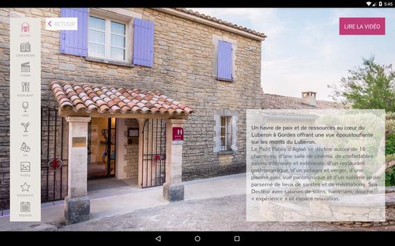 Le Petit Palais d'Aglaé, Hôtel Restaurant Spa screenshot 9