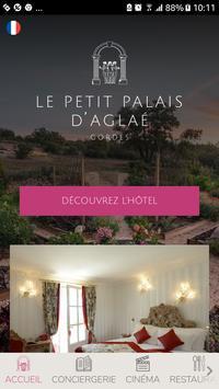 Le Petit Palais d'Aglaé, Hôtel Restaurant Spa poster