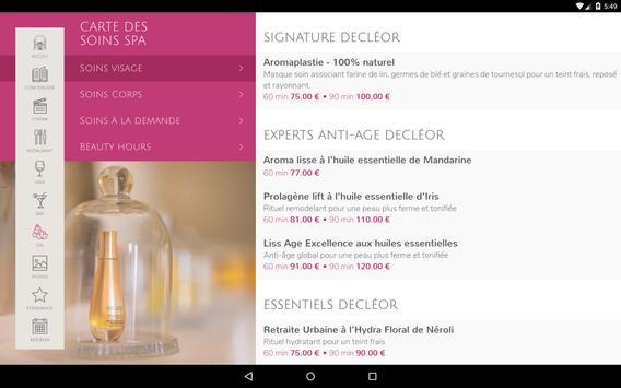Le Petit Palais d'Aglaé, Hôtel Restaurant Spa screenshot 13