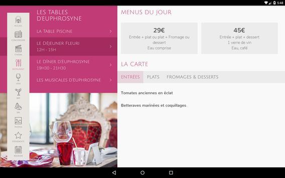 Le Petit Palais d'Aglaé, Hôtel Restaurant Spa screenshot 12