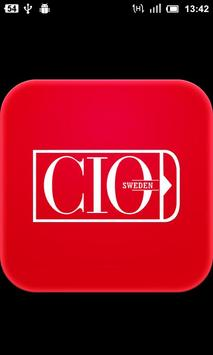 CIO Sweden poster