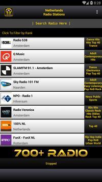 Nederland Radio Stations poster