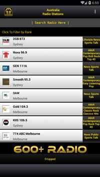 Australia Radio Stations poster