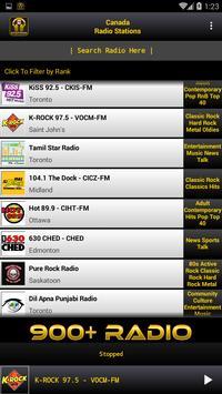 Canada Radio Stations poster