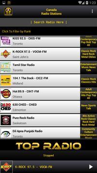 Canada Radio Stations apk screenshot