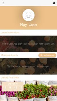 MyFlowers App apk screenshot