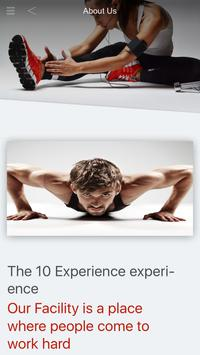 10 Experience poster