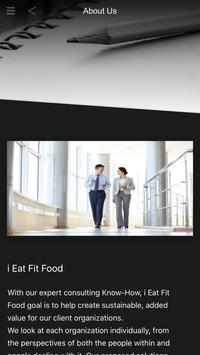i Eat Fit Food poster
