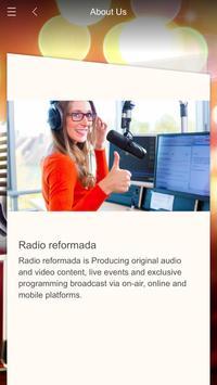 Radio reformada poster
