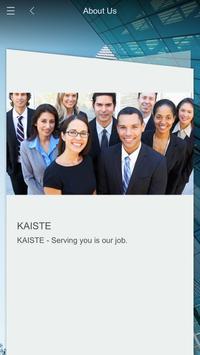 KAISTE poster
