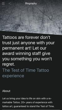 Test of Time poster