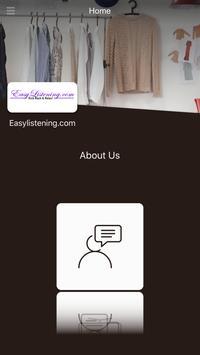 Easylistening.com screenshot 1