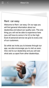 Rent  car easy poster