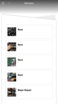 Rent  car easy apk screenshot