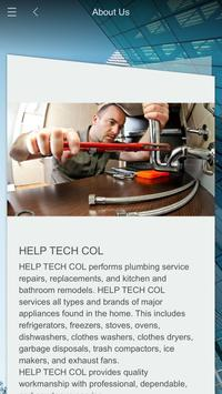 HELP TECH COL poster