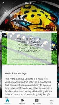 World Famous Jags poster