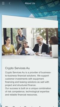 Crypto Services Au poster