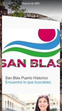 San Blas Serv poster