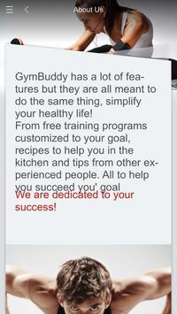 GymBuddy poster