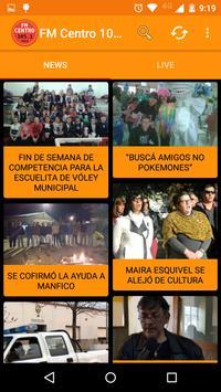 FM Centro 105.1 - Basavilbaso poster