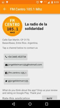 FM Centro 105.1 - Basavilbaso apk screenshot