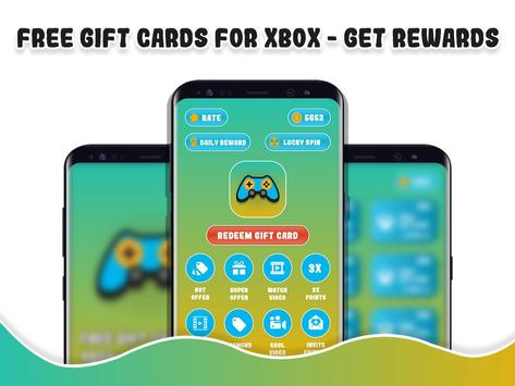 Free Gift Cards for Xbox - Get Rewards for Android - APK