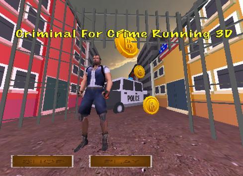 Criminal For Crime Running 3D screenshot 1