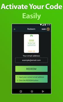 ... Xbox Free Gift Cards – One Live Gold Membership apk screenshot