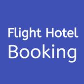 Flight Hotel Booking icon