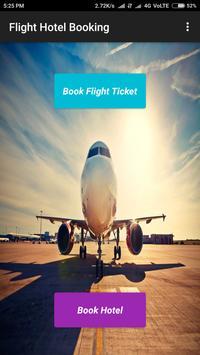 Flight Hotel Booking poster