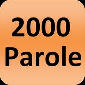 2000 parole inglesi utilizzati icon